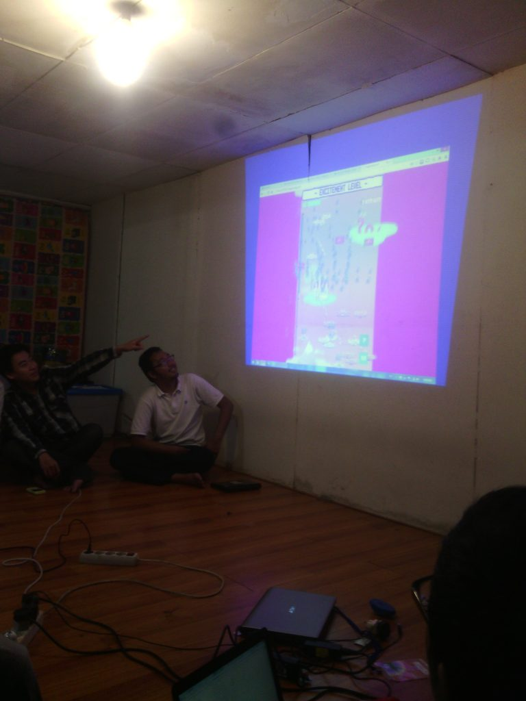 Sesi Pamer Game GGJ14 Bandung